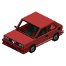 "Vehicle 3D models for QualityArmory - Vehicles, VehiclesPlus - ""Alfa Romeo Sprint"""