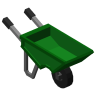 Wheelbarrow - 3D Model - Config and resourcepack for VehiclesPlusPro